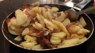 Как жарить картошку Рецепт фантастического хрустящего жареного картофеля