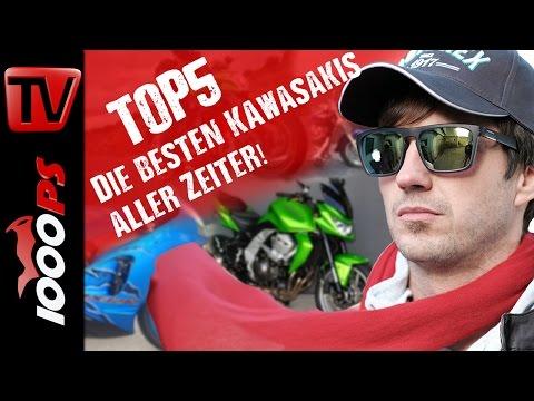 Top 5 - Die besten Kawasakis aller Zeiten - Zuverlässig, gut und treu!