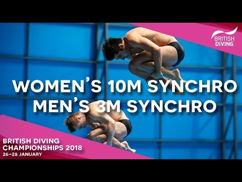 British Diving Championships 2018 - Session Three