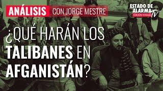 Análisis: ¿Qué harán los talibanes en Afganistán?; con Jorge Mestre