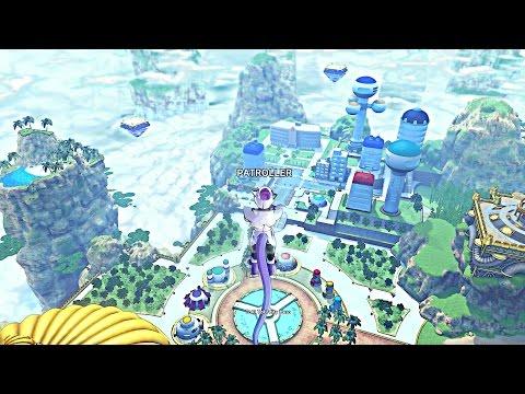 Dragon Ball Xenoverse 2 Conton City Free Roam GAMEPLAY-(Hover-board,SkillShops,Mentors,Quests)