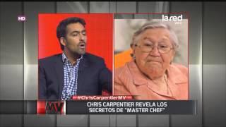 Chris Carpentier y su cariño por la abuelita Eliana de Master Chef