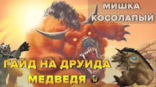 Гайд на Друида МЕДВЕДЯ (Druid Feral Tank) | World of Warcraft: Classic