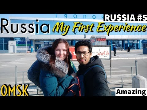 RUSSIA TRIP BEGINS 🔥🔥(OMSK CITY) SIBERIA | Astana To Omsk | IMMIGRATION | My First Experience |Solo