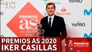 PREMIOS AS 2020 | IKER CASILLAS, PREMIO TRAYECTORIA | DIARIO AS