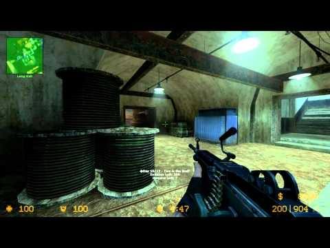 Extra long gameplay MORE ZOMBIES!!! Counter Strike Source