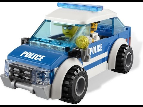 LEGO Police Cars Toys, Cartoon For Kids - YouTube