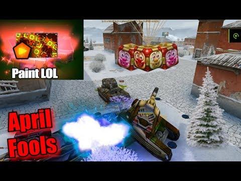 Tanki Online - GoldBox Montage On April Fools Days! #68 - MM Battles!
