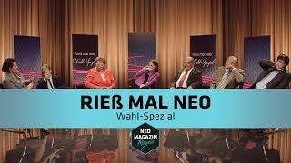 Rieß mal Neo - Wahl-Spezial | NEO MAGAZIN ROYALE mit Jan Böhmermann - ZDFneo