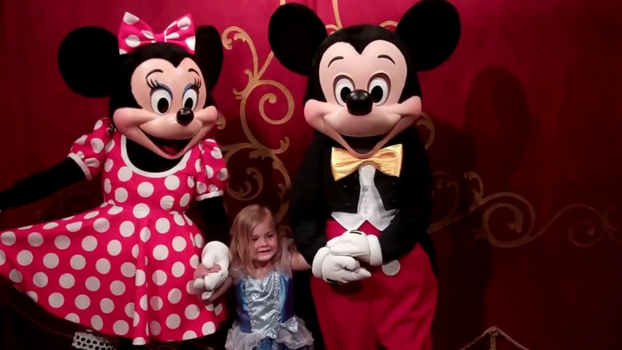 Mickey And Minnie Mouse At The Magic Kingdom Walt Disney World 2012 Hd Youtube