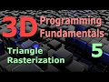 3D Programming Fundamentals [Triangle Ra