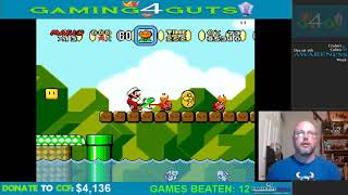 Highlight: Gaming4Guts Charity Marathon Super Mario World