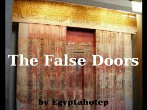 EGYPT 277   The FALSE DOORS   (by Egyptahotep)