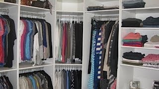 Updated Quick Room:closet Tour Lisasz09