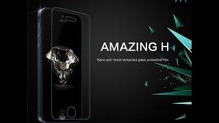 Защитное стекло Nillkin для IPhone 5/5S(Защитное стекло Nillkin для IPhone 5/5S - лучшее защитное стекло Купить можно тут: http://ali.pub/g54yh Видео на канале: https://ww..., 2015-11-04T07:01:59.000Z)