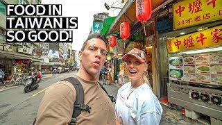 THE ULTIMATE TAIWANESE STREET FOOD TOUR | TAIPEI TAIWAN