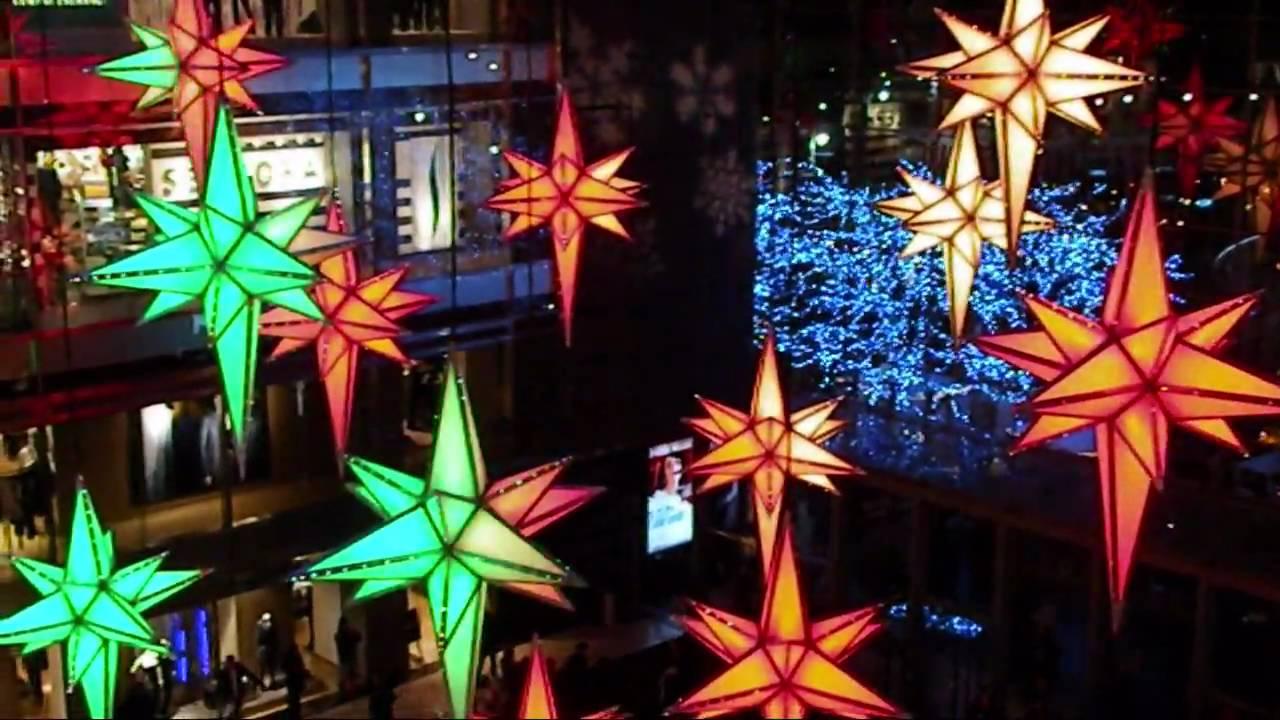 Under The Stars - Time Warner Center Christmas Light Show - YouTube