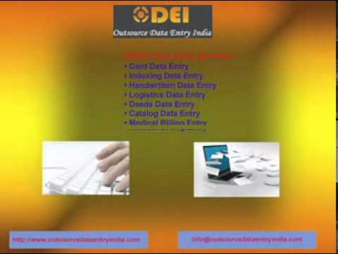 Data Entry Outsourcing| Outsource Data Entry Services Job work India
