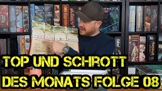 Top und Schrott des Monats - Folge 08 - September 2019 - Brettspiele - Boardgame Digger