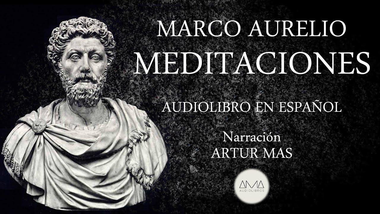 """Marco Aurelio - Meditaciones (Audiolibro Completo en Español) """"Voz Real Humana"""""""