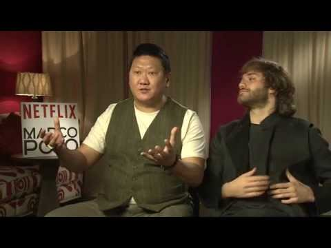 : Benedict Wong, Lorenzo Richelmy  Marco Polo The  Carpet
