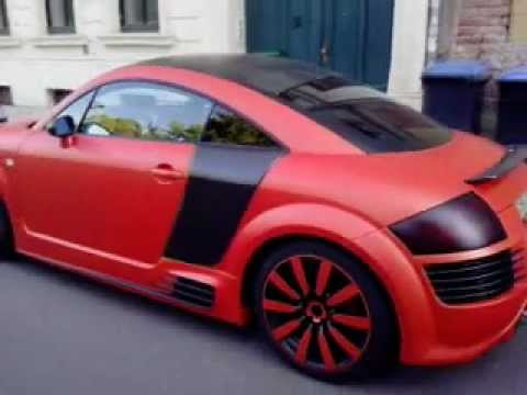 Audi TT with R8 optic  Audi RS6 - YouTube