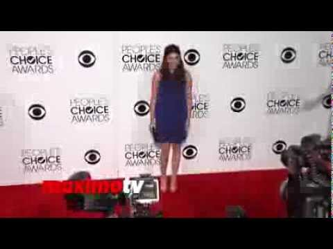 Amanda Setton People's Choice Awards 2014  Red Carpet Arrivals