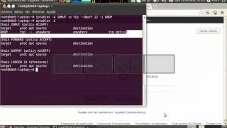 TUTORIAL: Iptables (tabla filter-basico) parte 1