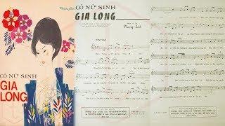 🎵 Cô Nữ Sinh Gia Long (Phượng Linh) Chế Linh, Diệu Thanh Pre 1975   Tờ Nhạc Xưa