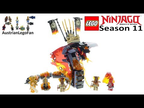 Lego Ninjago 70674 Fire Fang Speed Build