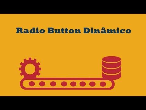 Preencher radio buttons dinâmicamente com dados vindos do banco