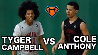 tyger campbell vs cole anthony matchup ends with a game winner top 5 point guards battle