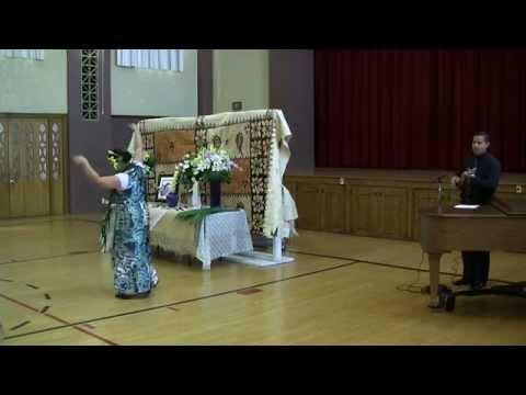 Funeral Hula -  Let me walk through Paradise with you Lord (Kanaka wai wai)