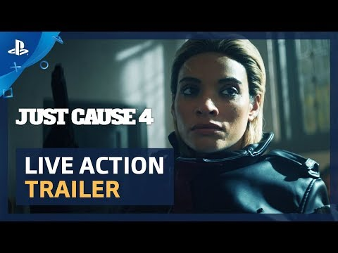 Everyone in Just Cause 4 wants to know how one man is capable of so much destruction