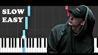 NF - When I Grow Up (SLOW EASY PIANO TUTORIAL)