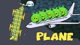 Bad Piggies - PIGGIES FAMILY 10 x PIGS ON THE GOLDEN EXPENSIVE PLANE!!
