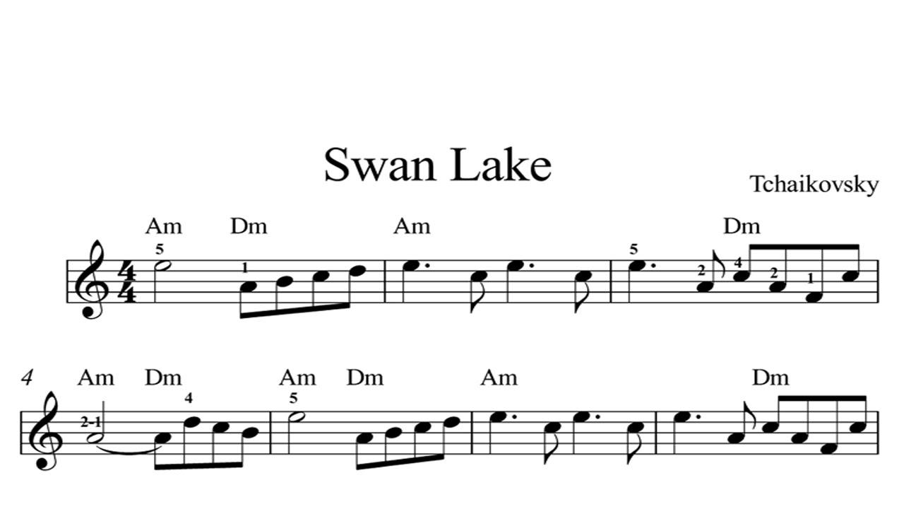 Swan Lake: CLASSICAL SHEET MUSIC Piano Organ & Keyboard Book 2