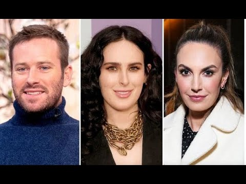 Rumer Willis new boyfriend. did Armie Hammer leave wife Elisabeth for her? His fans are not happy