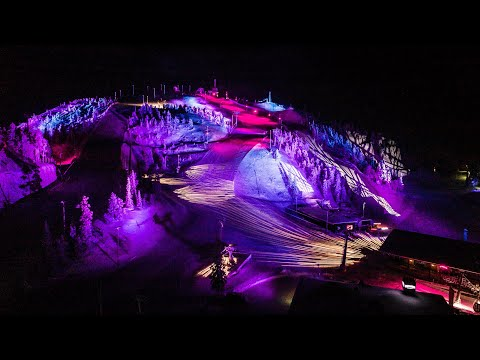 Ruka Polar Night Light Festival 2020, Kuusamo Finland