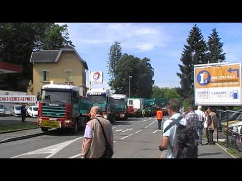 Convoi exceptionnel de 109 mètres (partie 6)