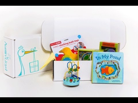 Austin Lloyd Monthly Baby and Toddler Box Review - Unboxing