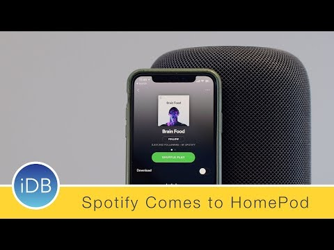 How to Play Spotify (or Pandora) on Apple's HomePod