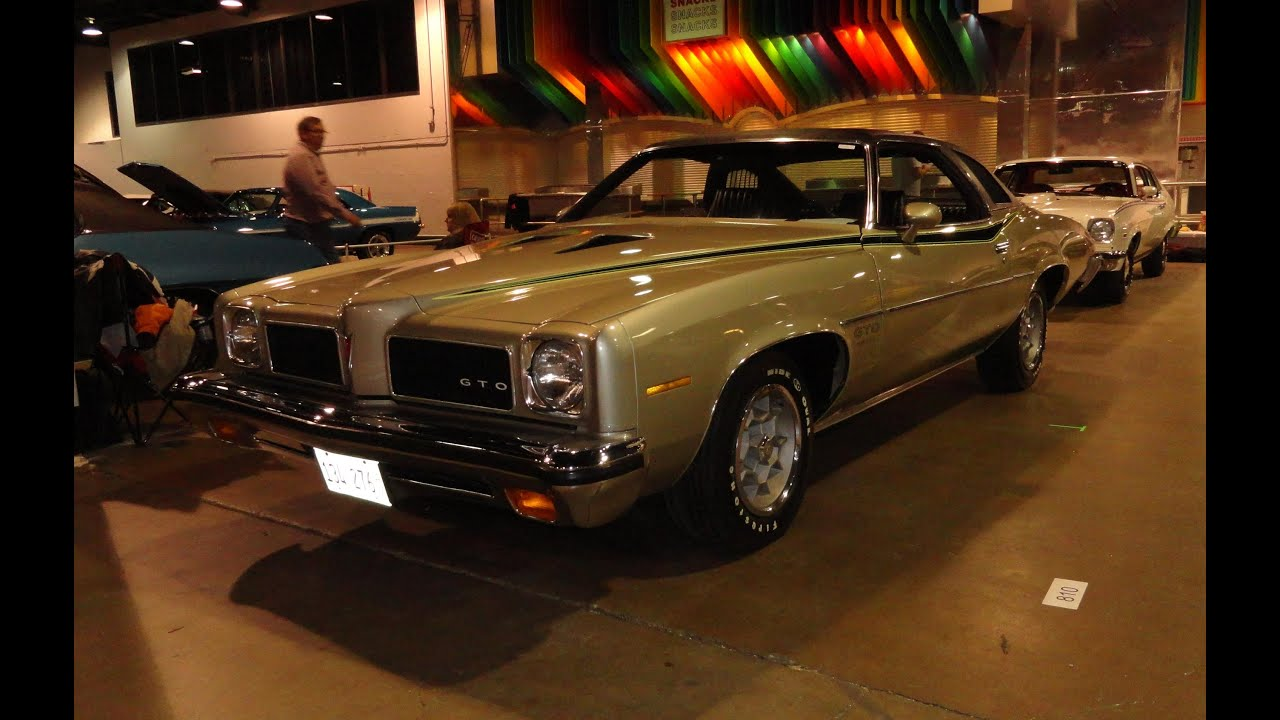 1973 pontiac gto with a 455 engine my car story with lou costabile youtube