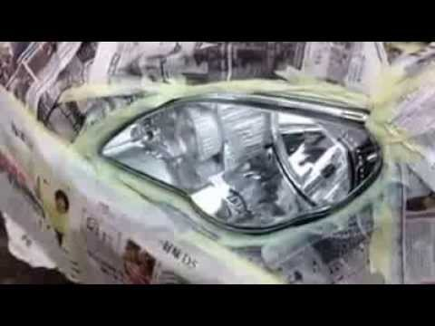 Aikka Headlamp Nano Color Coating Video