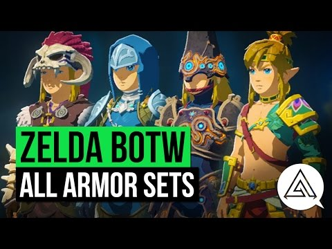Thumbnail: Zelda Breath of the Wild | All Armor Sets & Where to Get Them