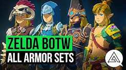 Zelda Breath of the Wild | All Armor Sets & Where to Get Them
