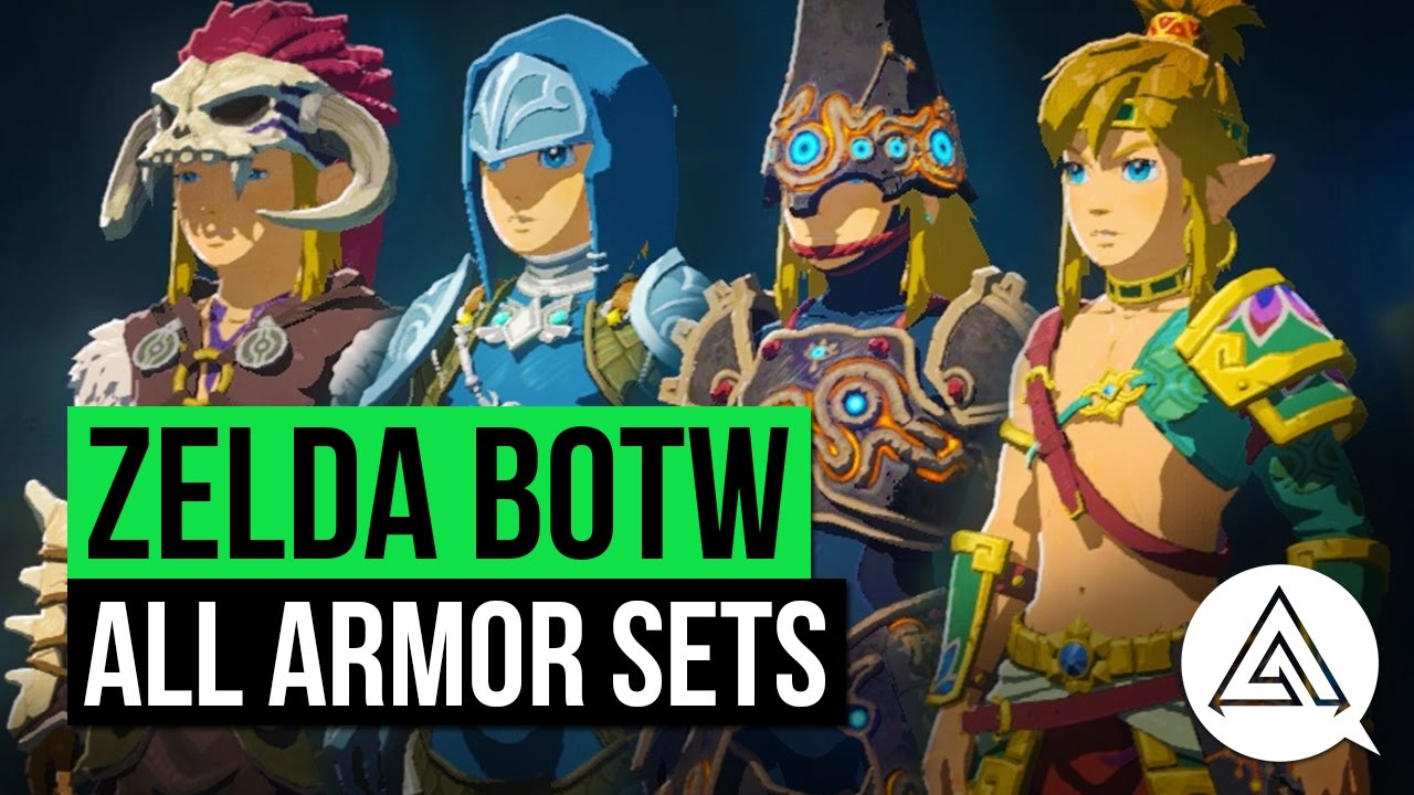 Zelda Breath Of The Wild All Armor Sets Amp Where To Get