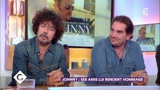 Johnny  ses amis lui rendent hommage - C  Vous - 14112017