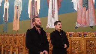ZiarulClujean.ro - Calin Merca si Emil Floare Vin colindatorii