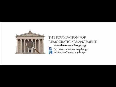 Foundation for Democratic Advancement (FDA) Podcast on CAN Government and Paramilitaries.wmv
